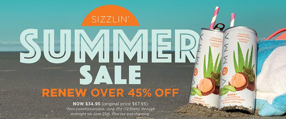 Sizzlin' Summer Sale!